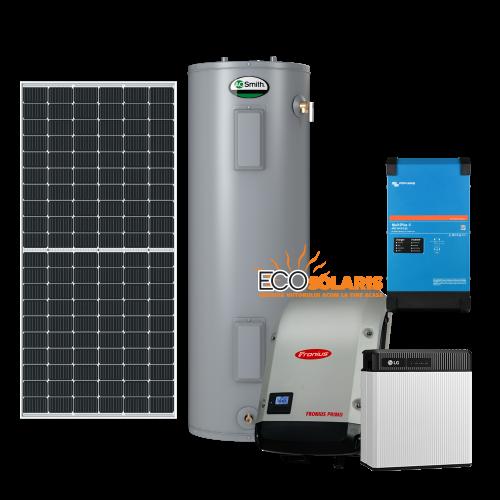 Sistem fotovoltaic 10kwp Micro-Grid LG Resu 20kwh aport incalzire