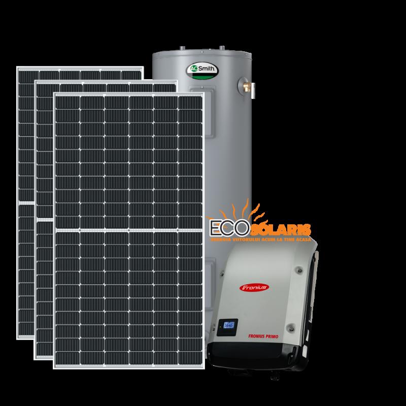 Sistem fotovoltaic 15kwp aport apa menajera si incalzire - Panouri Fotovoltaice