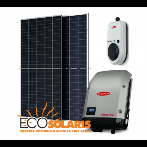 Sistem fotovoltaic On Grid 10Kwp / 50Kw zi Fronius EV Car - Panouri Fotovoltaice