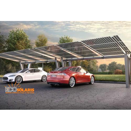 Sistem incarcare fotovoltaic pentru masina electrica cu prinza 22Kw trifazic - monofazata
