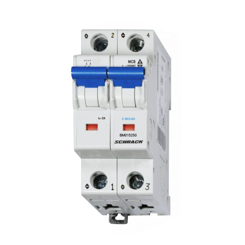 Intrerupator automat DC 50A fotovoltaice 2-DC - Panouri Fotovoltaice