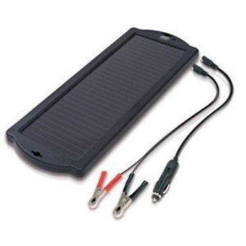 Panou fotovoltaic pentru mentenanta bateriei auto