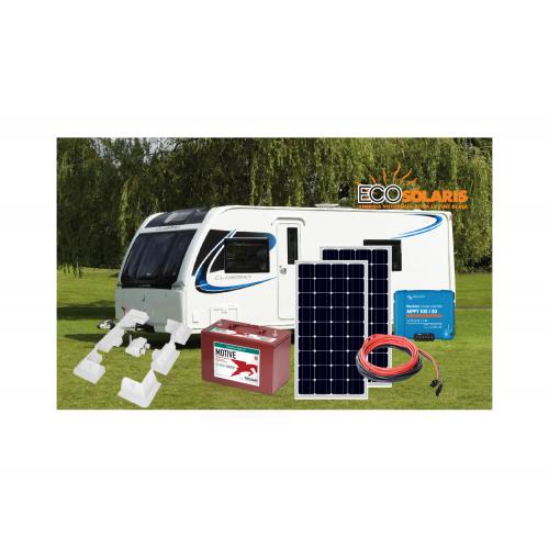 Sistem Fotovoltaic Rulota 12V 200Wp  Trojan AGM, Victron Energy SmartSolar