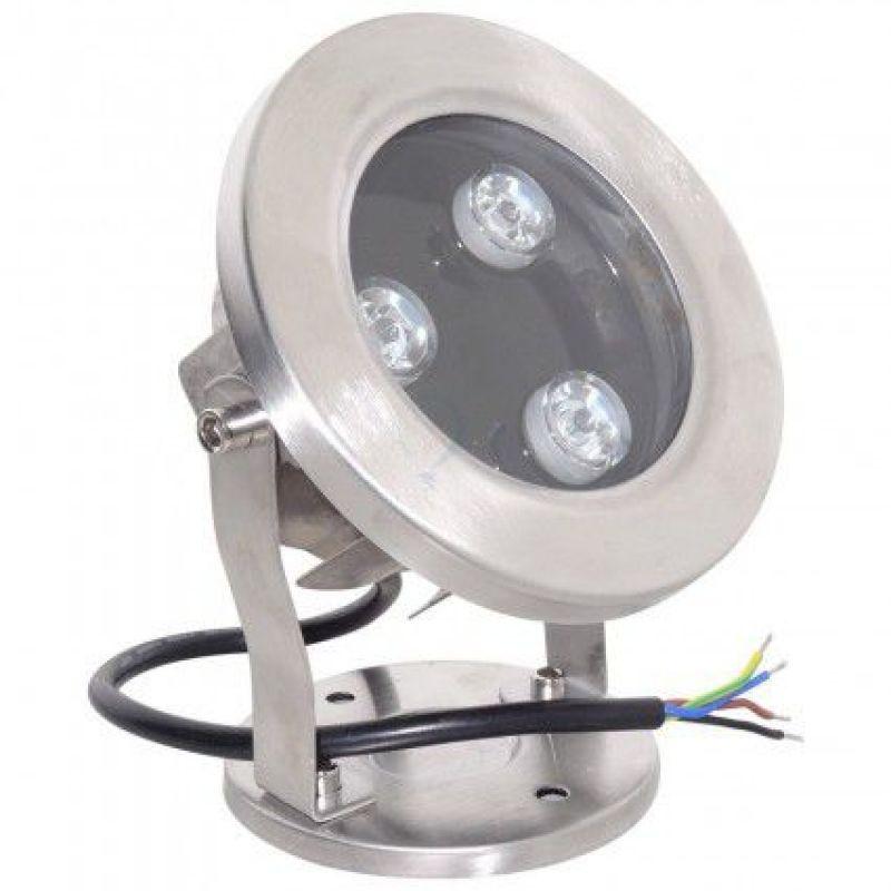 Spot Led RGB  12V 3W - Panouri Fotovoltaice