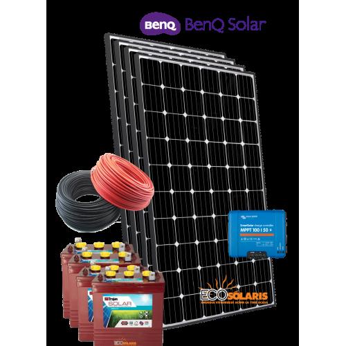 Sistem Fotovoltaic 24V Benq 1kWp Off Grid
