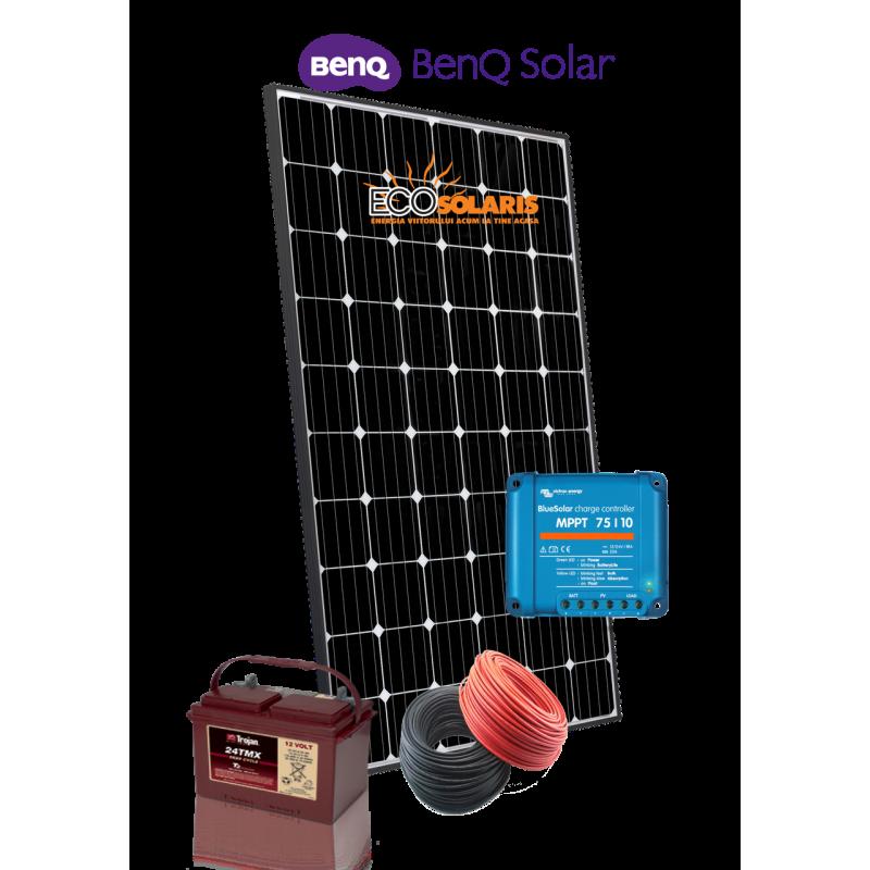 Sistem Fotovoltaic 12V Benq 300Wp Off Grid - Panouri Fotovoltaice
