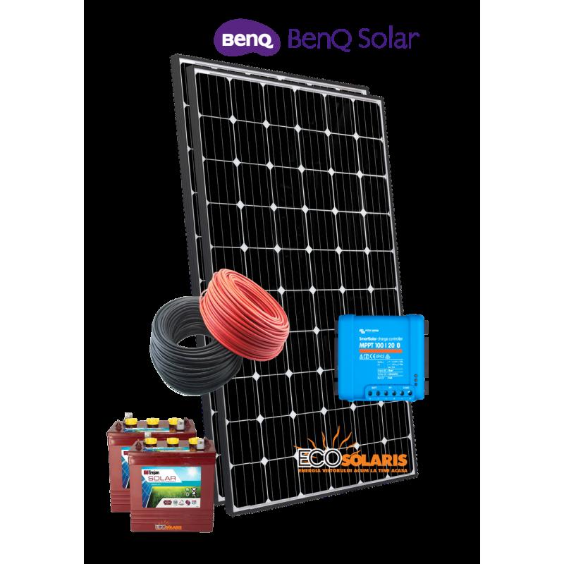 Sistem Fotovoltaic 12V Benq 600Wp Off Grid - Panouri Fotovoltaice