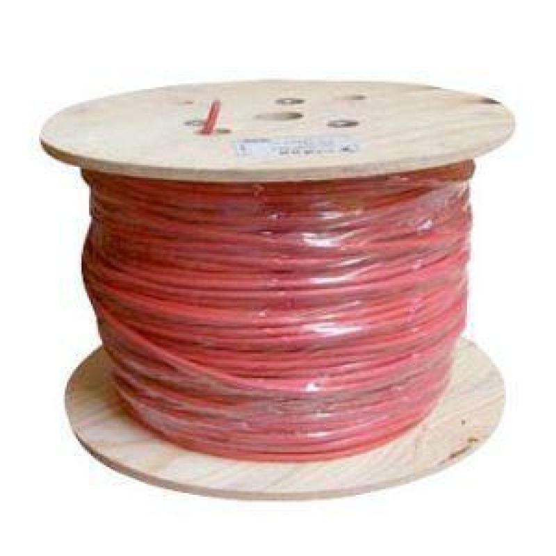 Cablu rosu fotovoltaice 4mm- 1 metru - Panouri Fotovoltaice