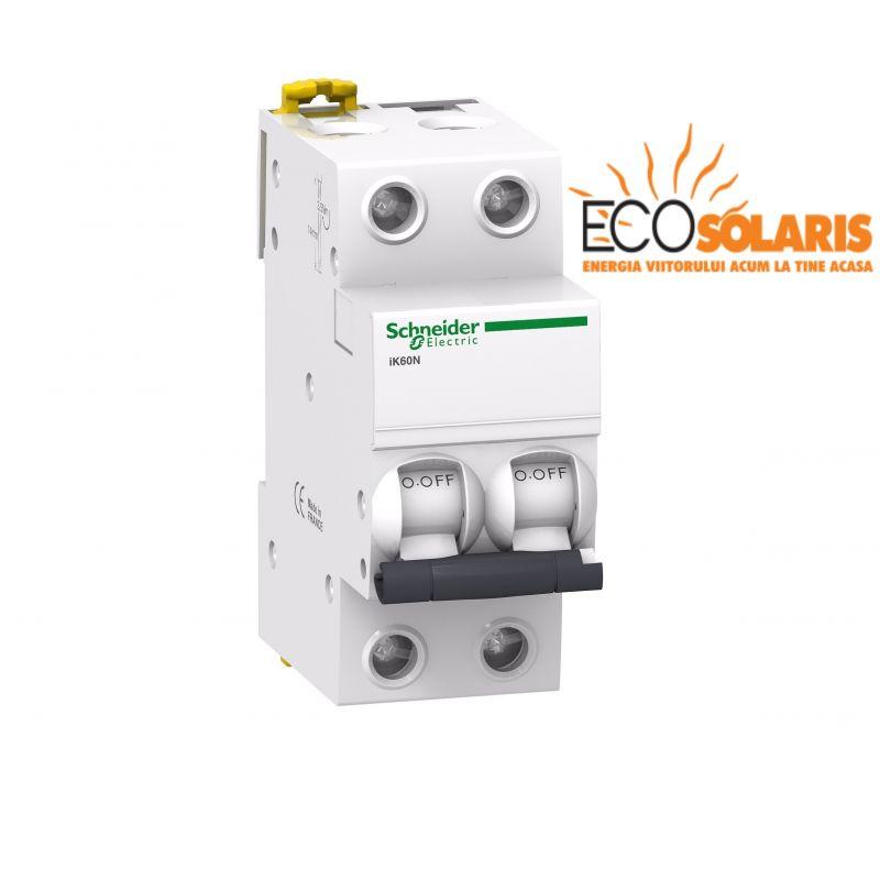 Intrerupator automat ACTI9  iK60N Schneider Electric 2P 4A C - Panouri Fotovoltaice