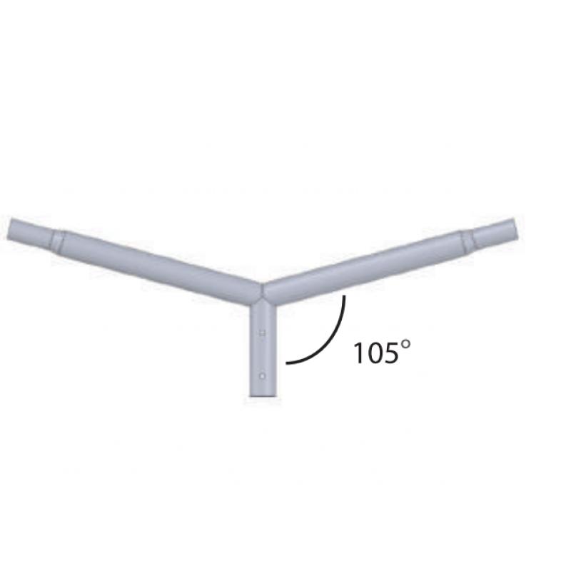 Brat pentru Stalp 2x150 cm  diametru 60 - Panouri Fotovoltaice