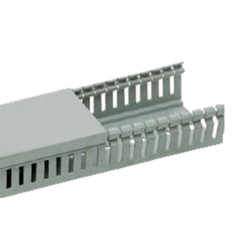 Canal cablu  perforat 25x40mm 2m buc - Panouri Fotovoltaice