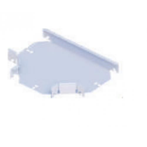 T orizontal pentru jgheab metalic  100x50mm