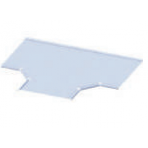 Capac T orizontal pentru jgheab metalic 400 mm