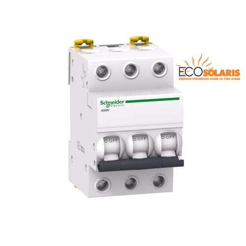 Intrerupator automat  iK60N Schneider Electric 3P 63A C