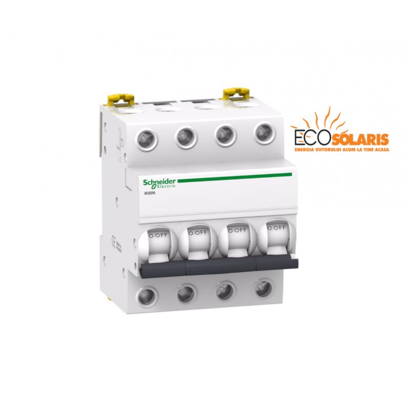 Intrerupator automat  iK60N Schneider Electric 4P 16A C - Panouri Fotovoltaice