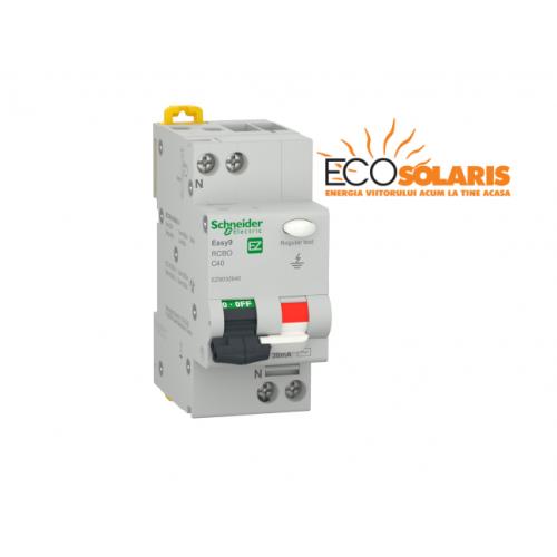 Intrerupator diferential Schneider Electric 1P+N 4500 AC 30mA C 10A