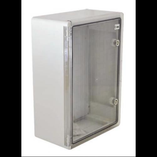 Panou Electric cu usa transparenta din Policarbonat  30x40x22