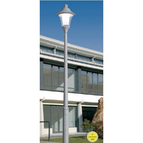 Stalp  de iluminat Remo gri 50W 4 m