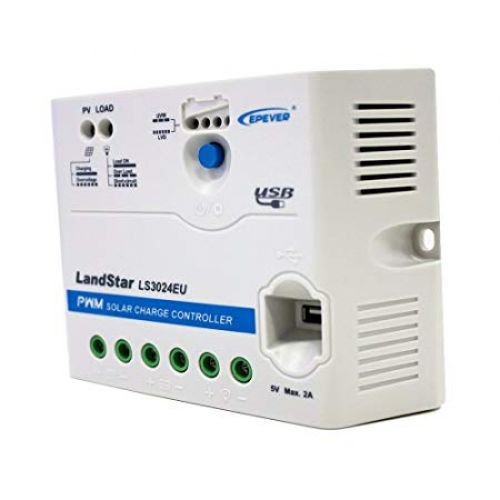Controler PWM incarcare panou solar LS3024EU  12V / 24V 30A
