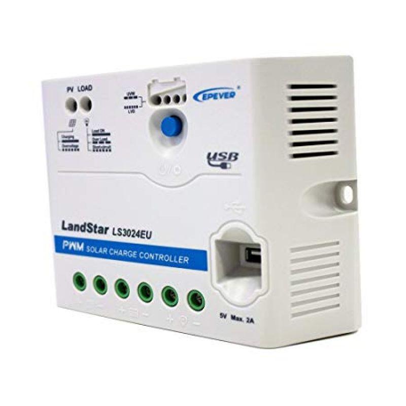 Controler PWM incarcare panou solar LS3024EU  12V / 24V 30A - Panouri Fotovoltaice