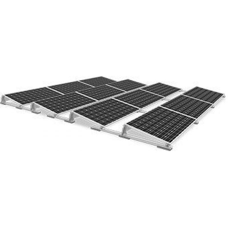 Sistem fixare acoperis plat S-Dome  inclinatie 10 grade - Panouri Fotovoltaice