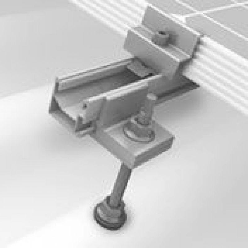Sistem fixare panouri fotovoltaice k2 acoperis inclinat cu ancore lemn - Panouri Fotovoltaice