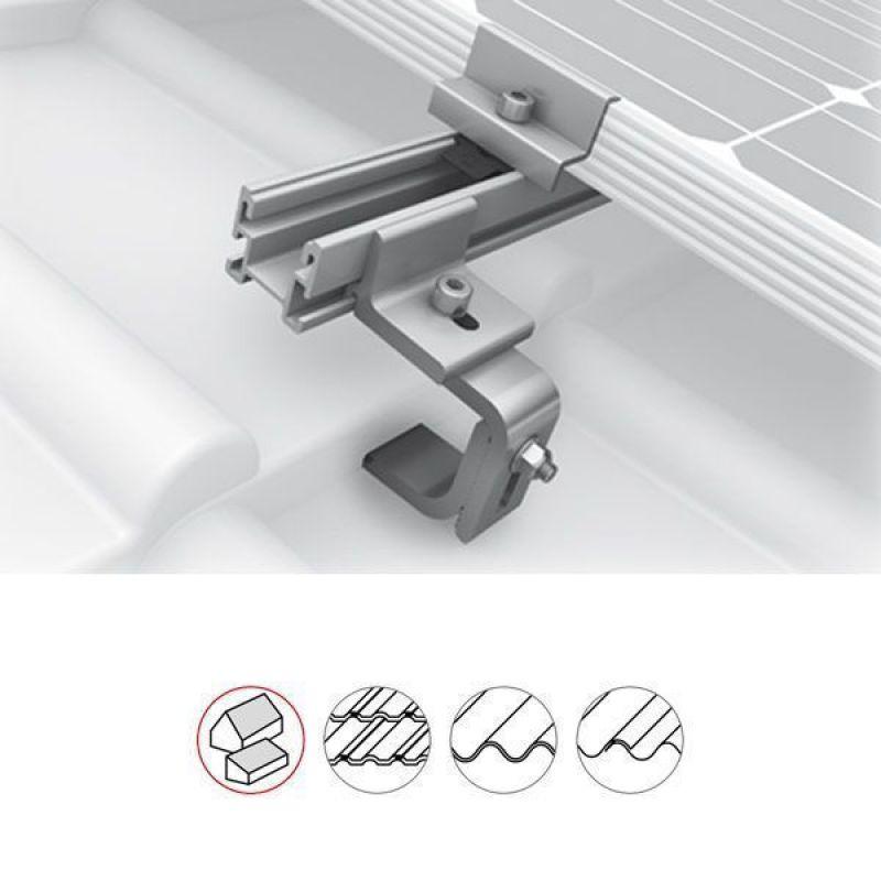 Ancora fixare profil pe tigla ceramica K2 Systems - Panouri Fotovoltaice