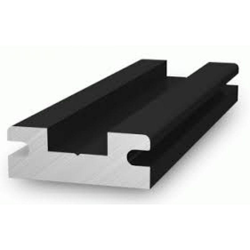 Conector K2 InsertionRail negru-anonizat - Panouri Fotovoltaice
