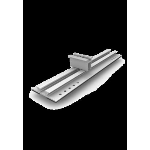 Sistem fixare panouri fotovoltaice k2 mini Rail tabla undulata