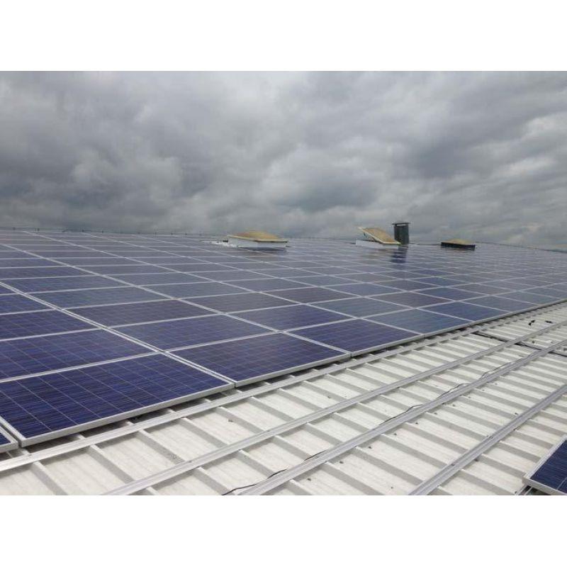 Sistem fixare panouri fotovoltaice k2 acoperis hala industriala - Panouri Fotovoltaice