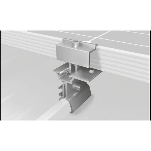 Sistem fixare panouri fotovoltaice k2 acoperis inclinat tabla faltuita