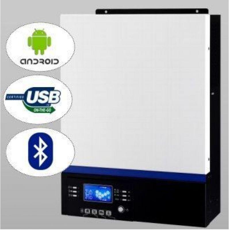 Invertor PIP-MK 5048 5KW 48V 80A MPPT - Panouri Fotovoltaice
