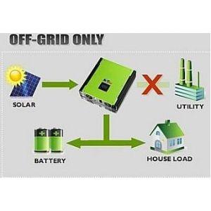 Invertor Hibrid MPI MPPT SOLAR 5Kw Plus Monofazic - Panouri Fotovoltaice