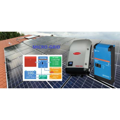 Sistem Fotovoltaic Micro-Grid 48V 5kWp