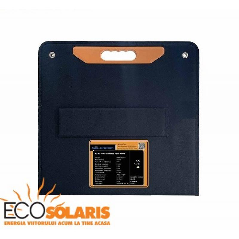 Panou Fotovoltaic portabil  80W - Panouri Fotovoltaice