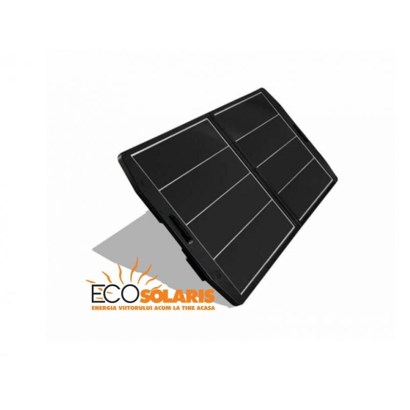 Panou Fotovoltaic portabil 60W  cu sticlă - Panouri Fotovoltaice