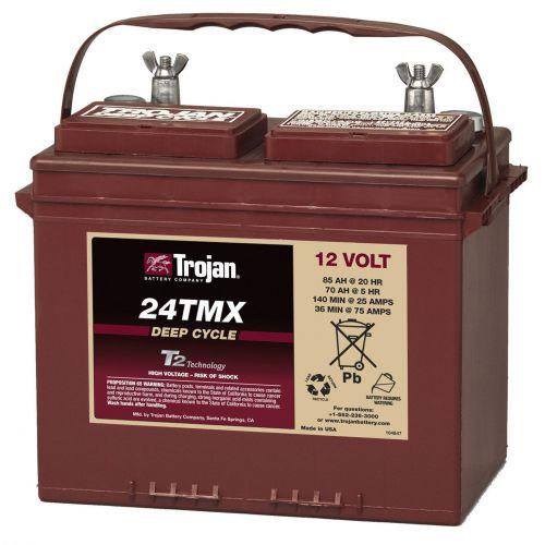 Baterie Trojan 24TMX 12V / 85A Deep Cycle Tehnologie T2