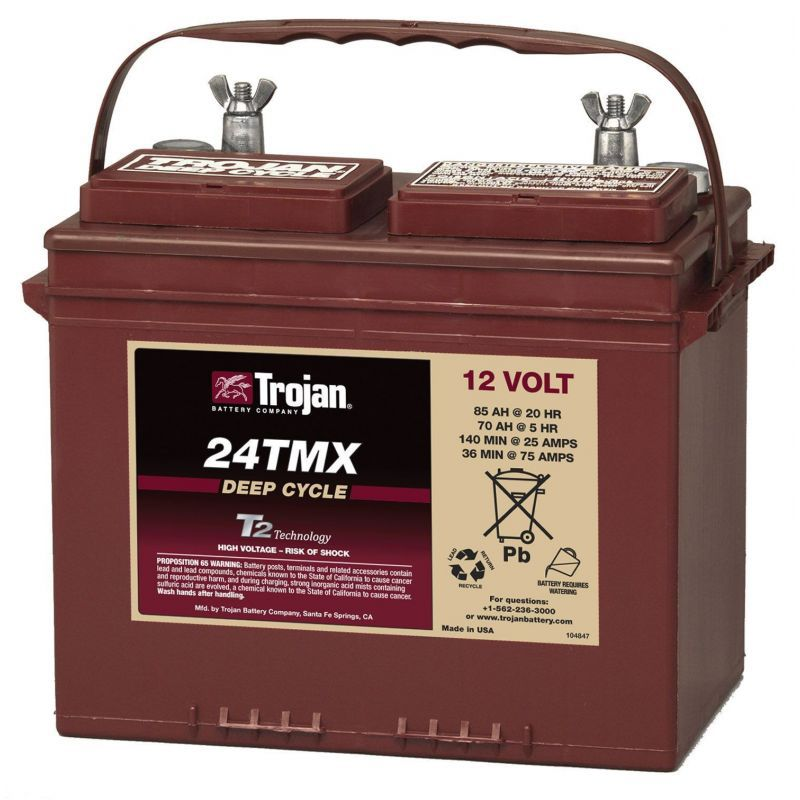 Baterie Trojan 24TMX 12V / 85A Deep Cycle Tehnologie T2 - Panouri Fotovoltaice