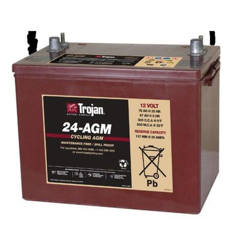 Baterie Trojan 24-AGM 12V AGM - Panouri Fotovoltaice