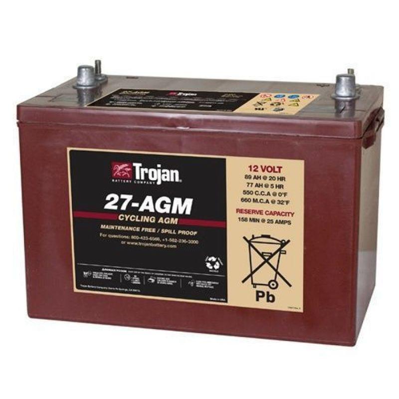 Baterie Trojan 27-AGM 12V - Panouri Fotovoltaice