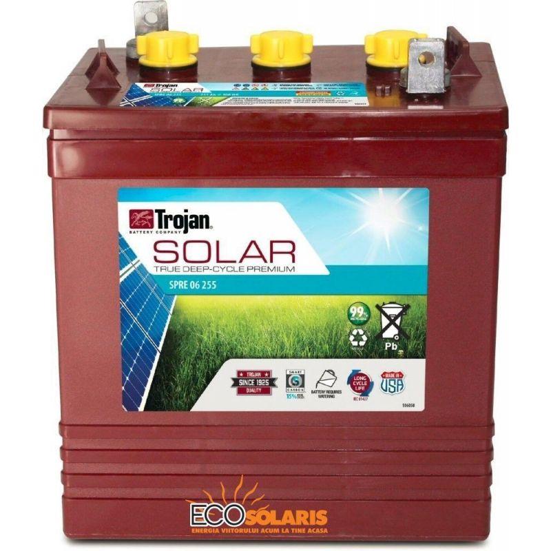 Baterie Trojan deep cycle 6V SPRE 255 SOLAR - Panouri Fotovoltaice