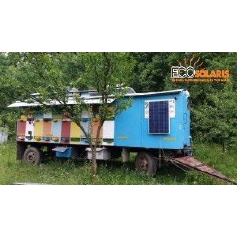 Sistem fotovoltaic apicol 250Wp 12V Off Grid - Panouri Fotovoltaice