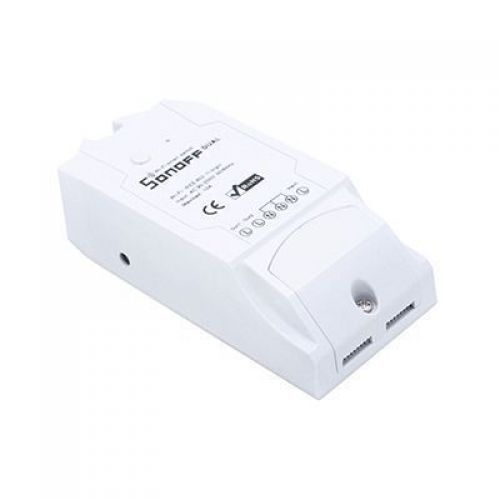 Sonoff TH10 - intrerupator wireless control temperatura - umiditate - Panouri Fotovoltaice