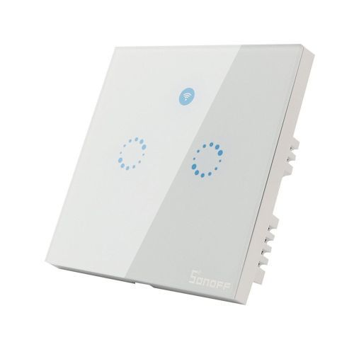 Sonoff Touch - G2  intrerupator wireless incastrabil cu touch - Panouri Fotovoltaice