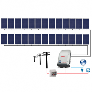 Sistem Fotovoltaic Q Cells 25 kWp On Grid Programul  Casa Verde 2019 - Panouri Fotovoltaice