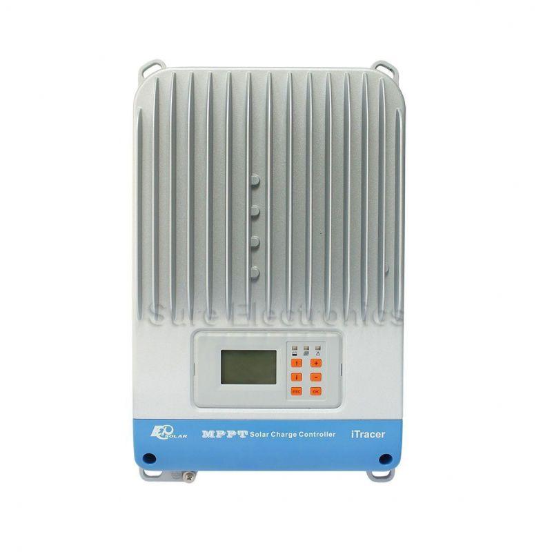 Controler MPPT iTracer IT4415ND 45A MPPT 12V /24V/48V - Panouri Fotovoltaice