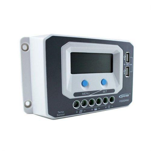 Controler Solar PWM VS2024AU  20A 12V 24V - Panouri Fotovoltaice
