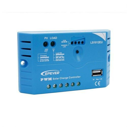 Controler solar 12V 10A PWM LS1012EU - Panouri Fotovoltaice