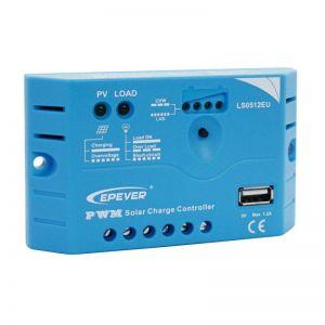 Controler solar EP Solar 12V 5A cu mufa usb
