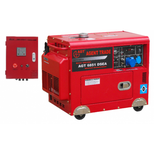Generator Monofazat Cu Automatizare AGT 6851 DSEA
